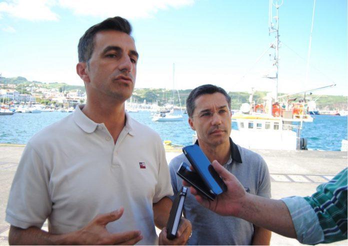 Deputados Carlos Ferreira e Luís Garcia