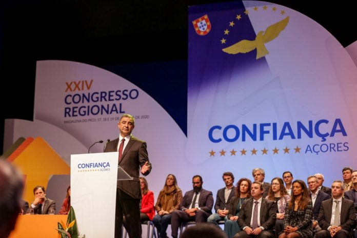 José Bolieiro no Congresso do PSD/Açores no Pico